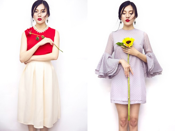 Á khôi Tăng Huỳnh Như khoe sắc như hoa mùa xuân ảnh 6
