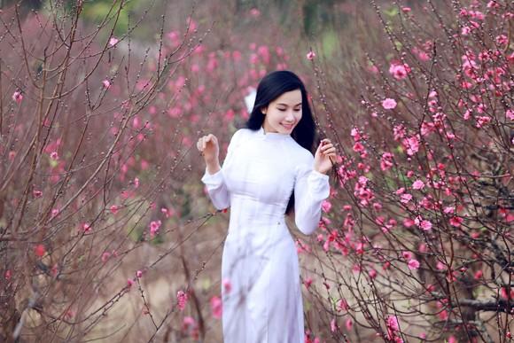 Hot girl đa tài Lương Giang rạng ngời đón xuân ảnh 1