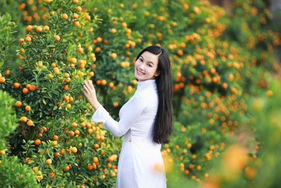 Hot girl đa tài Lương Giang rạng ngời đón xuân ảnh 9