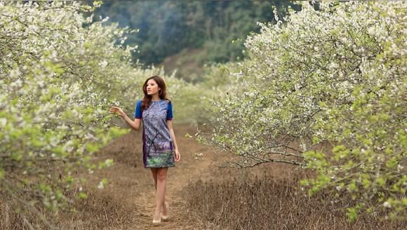 Choáng ngợp mùa xuân vùng cao trong thiết kế của Vũ Việt Hà ảnh 3
