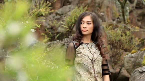 Choáng ngợp mùa xuân vùng cao trong thiết kế của Vũ Việt Hà ảnh 7
