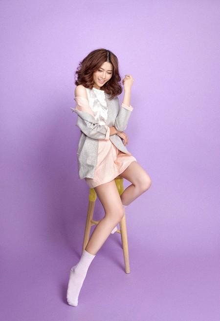 """Quỳnh Châu """"ngọt ngào"""" sau Vietnam's Next Top Model ảnh 5"""