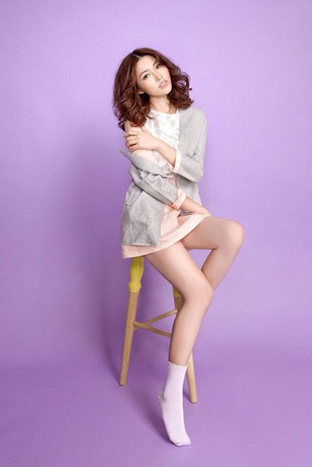 """Quỳnh Châu """"ngọt ngào"""" sau Vietnam's Next Top Model ảnh 6"""