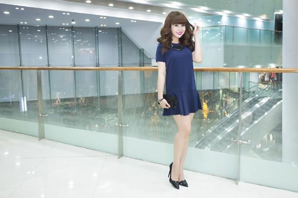 Vẻ đẹp búp bê của giám khảo Lưu Thiên Hương ảnh 2