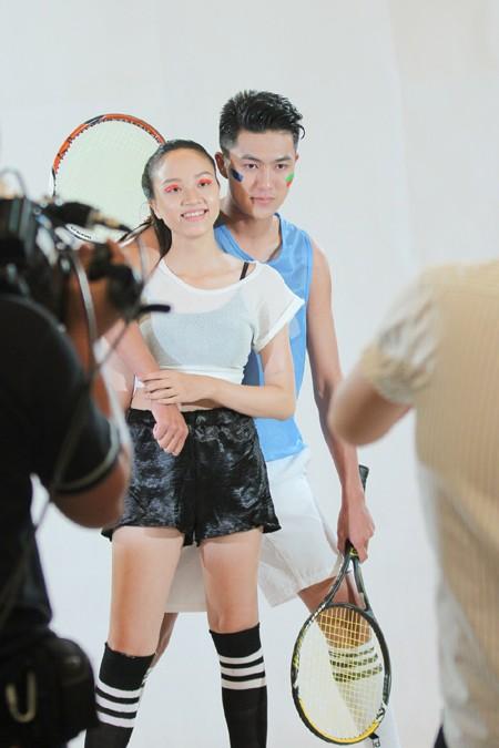 Đột nhập vòng thi tạo dáng trước ống kính của Vietnam's Next Top Model 2015 ảnh 3