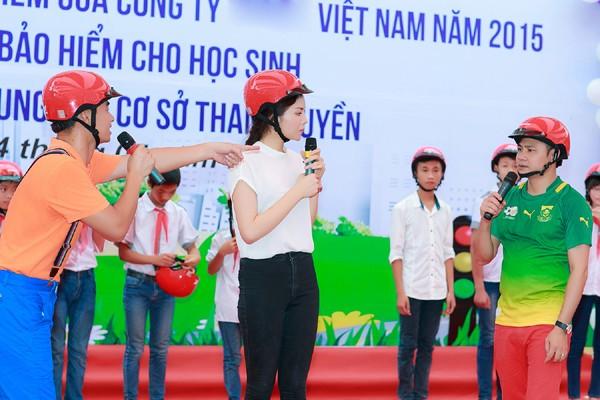 Hoa hậu Kỳ Duyên diễn hài cùng Xuân Bắc, Tự Long ảnh 3
