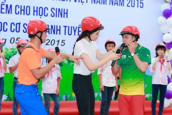 Hoa hậu Kỳ Duyên diễn hài cùng Xuân Bắc, Tự Long ảnh 4