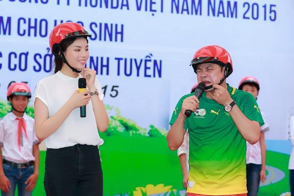 Hoa hậu Kỳ Duyên diễn hài cùng Xuân Bắc, Tự Long ảnh 5