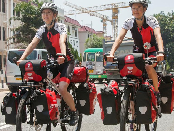 Đạp xe vòng quanh châu Á kêu gọi bảo vệ tê giác ảnh 1