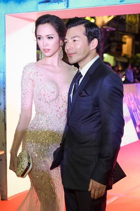 """Vũ Ngọc Anh đẹp tựa nữ thần sánh đôi Trần Bảo Sơn công chiếu phim """"Quyên"""" ảnh 1"""