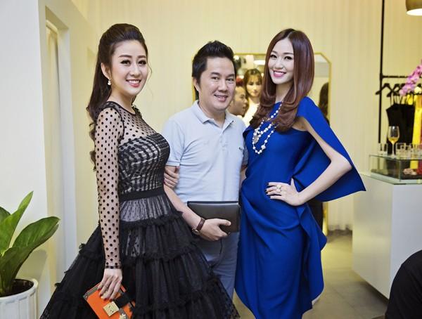 MC Kim Trang rạng ngời cùng bầu Hoà dự tiệc thời trang ảnh 8