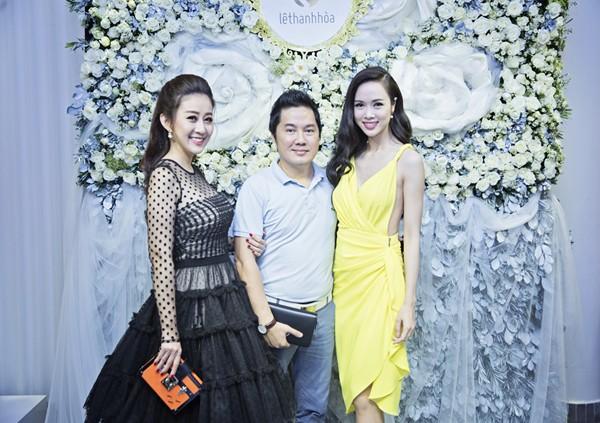 MC Kim Trang rạng ngời cùng bầu Hoà dự tiệc thời trang ảnh 5