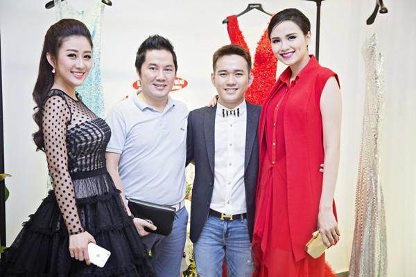 MC Kim Trang rạng ngời cùng bầu Hoà dự tiệc thời trang ảnh 7