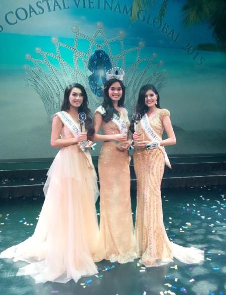 Vương miện Hoa hậu Biển xanh toàn cầu 2015 đã có chủ ảnh 3