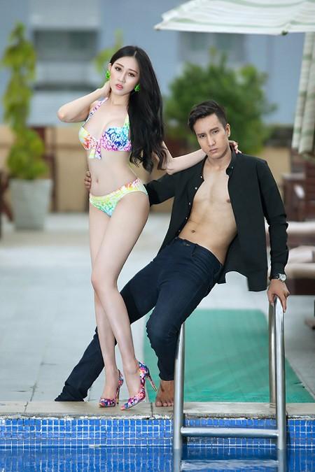 """Hoa hậu Huỳnh Thuý Anh diện bikini khoe thân hình gợi cảm trước khi ngồi """"ghế nóng"""" ảnh 8"""