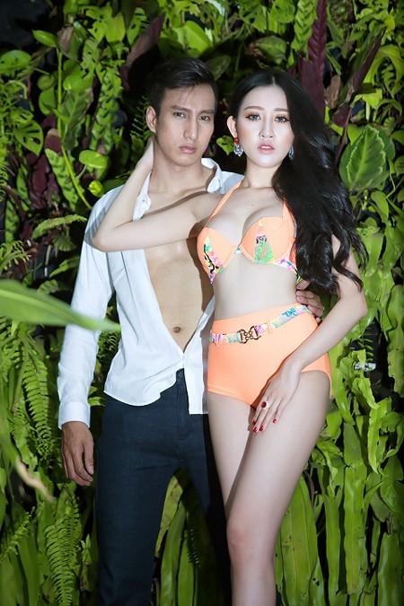 """Hoa hậu Huỳnh Thuý Anh diện bikini khoe thân hình gợi cảm trước khi ngồi """"ghế nóng"""" ảnh 7"""