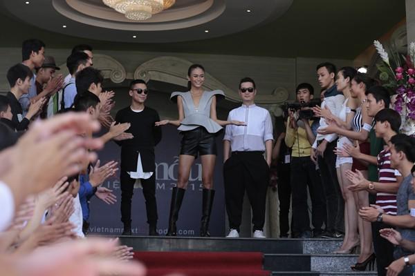 Lộ diện gương mặt cuối cùng bộ 3 quyền lực của Vietnam's Next Top Model 2015 ảnh 4
