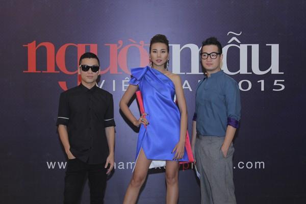 Lộ diện gương mặt cuối cùng bộ 3 quyền lực của Vietnam's Next Top Model 2015 ảnh 2