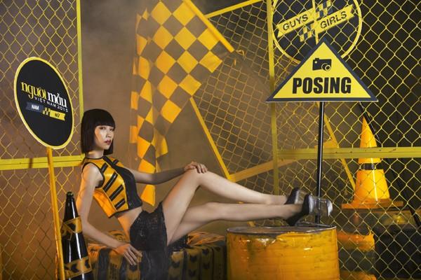 Chính thức công bố Top 14 thí sinh vào bán kết Vietnam's Next Top Model 2015 ảnh 9