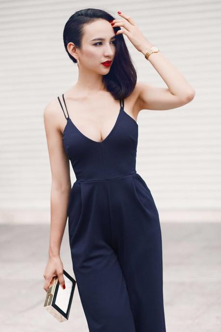 Hoa hậu Ngọc Diễm khoe eo thon ngực đầy gợi cảm ảnh 5