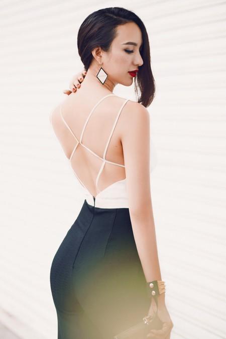 Hoa hậu Ngọc Diễm khoe eo thon ngực đầy gợi cảm ảnh 7
