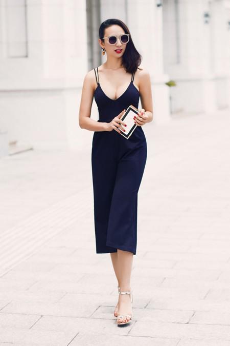 Hoa hậu Ngọc Diễm khoe eo thon ngực đầy gợi cảm ảnh 3
