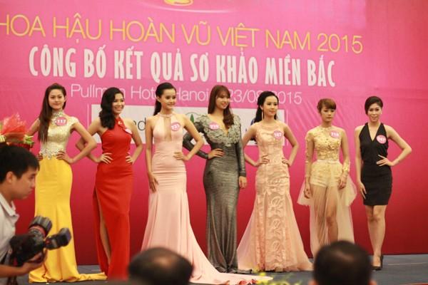 Hoa hậu Hoàn vũ Việt Nam 2015: Hoàn tất lựa chọn 70 thí sinh vào bán kết ảnh 7