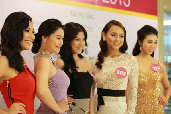 Hoa hậu Hoàn vũ Việt Nam 2015: Hoàn tất lựa chọn 70 thí sinh vào bán kết ảnh 4