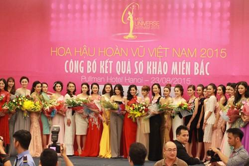Hoa hậu Hoàn vũ Việt Nam 2015: Hoàn tất lựa chọn 70 thí sinh vào bán kết ảnh 12