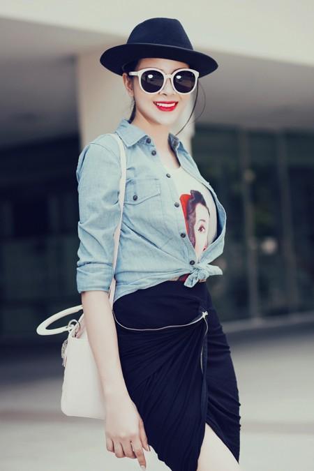Diễn viên Sella Trương diện street style ấn tượng xuống phố ảnh 7