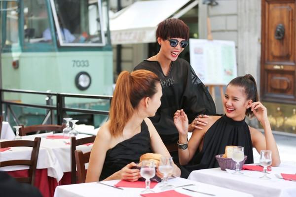 Top 4 Vietnam's Next Top Model hào hứng khám phá Italy ảnh 4