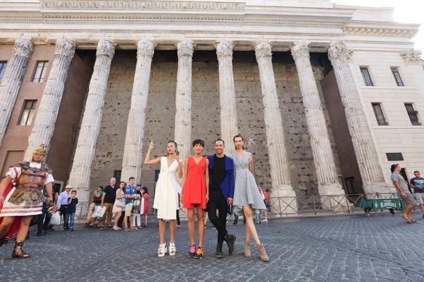 Top 4 Vietnam's Next Top Model hào hứng khám phá Italy ảnh 2