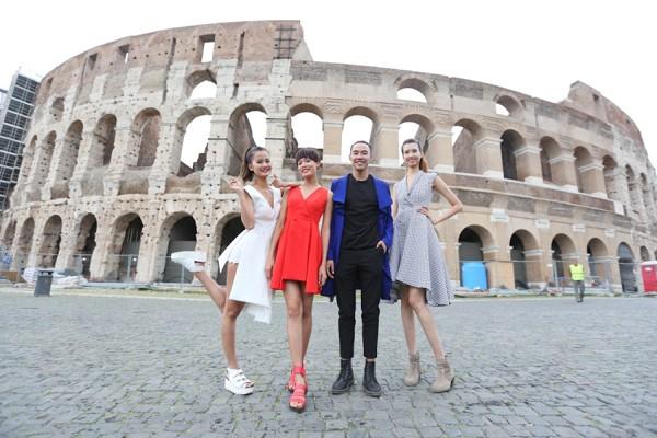 Top 4 Vietnam's Next Top Model hào hứng khám phá Italy ảnh 8