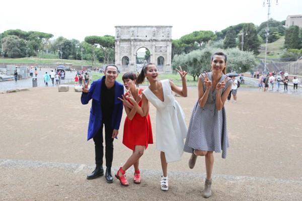 Top 4 Vietnam's Next Top Model hào hứng khám phá Italy ảnh 7