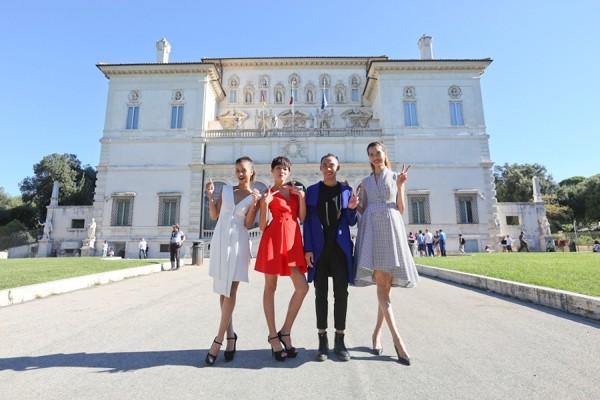 Top 4 Vietnam's Next Top Model hào hứng khám phá Italy ảnh 1