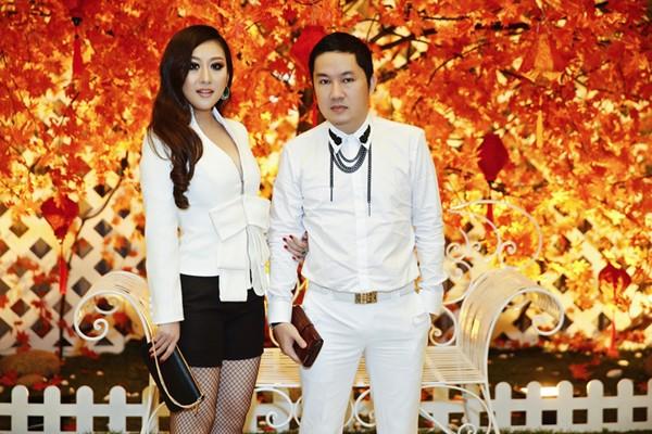 Bầu Hoà lịch lãm cùng MC Kim Trang dự sinh nhật Quách Tuấn Du ảnh 4