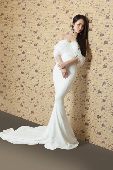 Dương Kim Ánh vai trần quyến rũ trong loạt ảnh mới ảnh 6