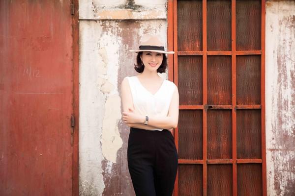 Cận cảnh vẻ đẹp trẻ trung hiếm thấy của MC Thanh Mai ảnh 6