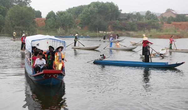 Tái hiện không gian văn hóa chợ nổi Nam bộ tại Hà Nội ảnh 6