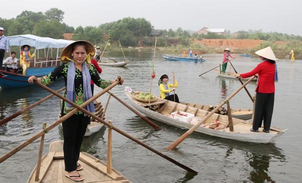 Tái hiện không gian văn hóa chợ nổi Nam bộ tại Hà Nội ảnh 3