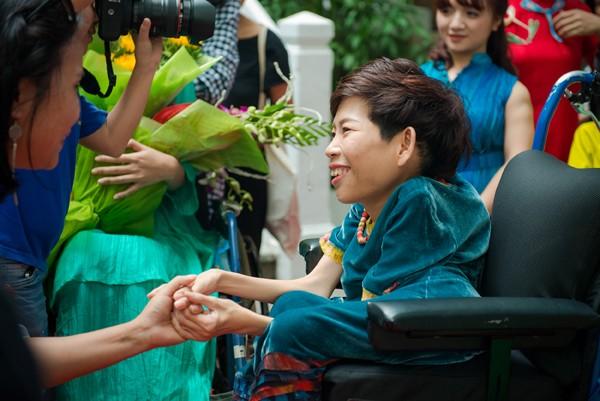 Ấn tượng với màn trình diễn thời trang dành cho người khuyết tật ảnh 1
