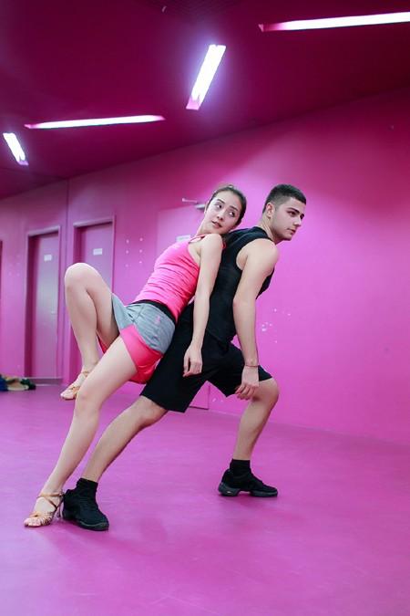 """Jennifer Phạm """"nước rút"""" tập luyện cho """"Bước nhảy hoàn vũ"""" ảnh 2"""