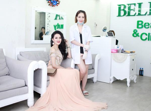 """Hoa hậu Huỳnh Thuý Anh """"nuôi dưỡng"""" nhan sắc nhờ Bella ảnh 4"""