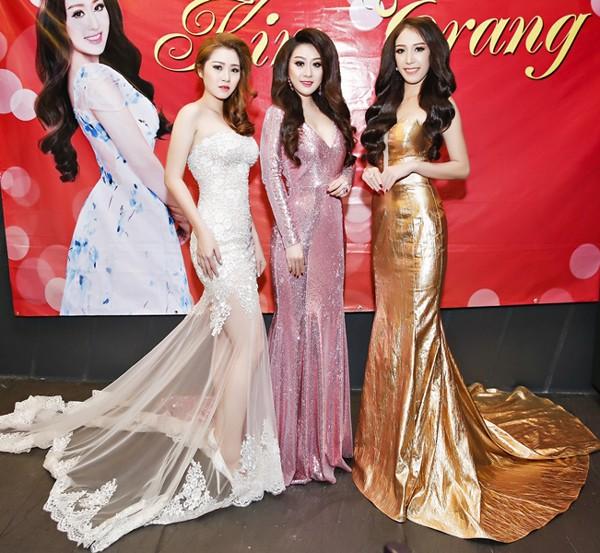 Ca sĩ Ngọc Trân Anh lộng lẫy dự tiệc sinh nhật MC Kim Trang ảnh 4