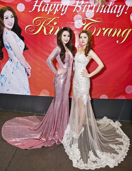 Ca sĩ Ngọc Trân Anh lộng lẫy dự tiệc sinh nhật MC Kim Trang ảnh 2