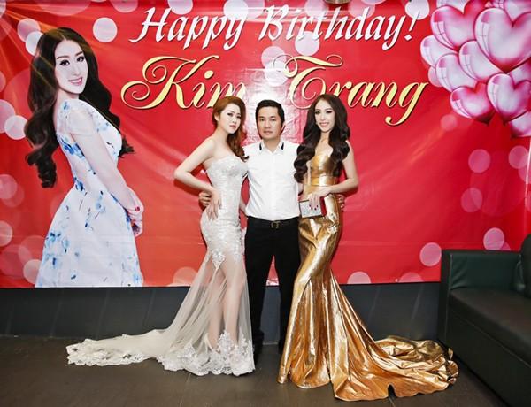 Ca sĩ Ngọc Trân Anh lộng lẫy dự tiệc sinh nhật MC Kim Trang ảnh 3