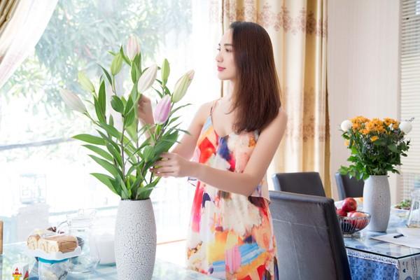 Con gái Hoa hậu Ngọc Diễm trổ tài bếp núc ảnh 7