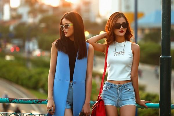Chà Mi, Hương Ly khoe hình thể chuẩn với streetstyle bắt mắt ảnh 6