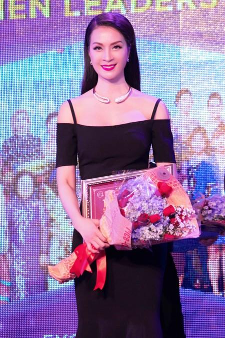 MC Thanh Mai lọt Top 50 nữ lãnh đạo toàn cầu 2016 ảnh 5