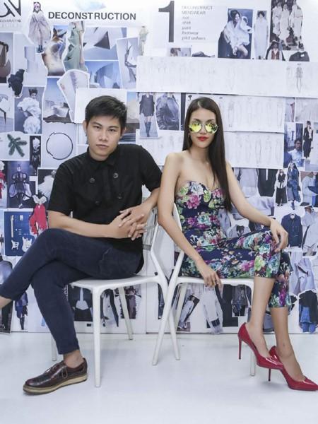 """Lan Khuê """"đội nắng"""" đi thử trang phục tham dự Vietnam International Fashion Week 2016 ảnh 11"""